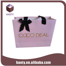china supplier custom fashion designs recycled shopping bags