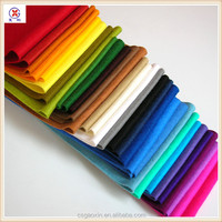 Polyester nonwoven color needle felt