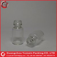 Clear glass vial for lyophilization tube glass bottle wholesale.