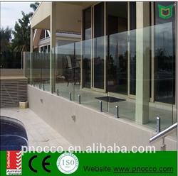 glass fense for australian market