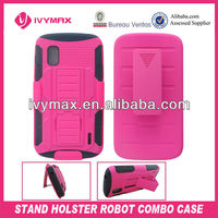 cell phone accessory for LG E960 nexus 4 phone case
