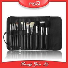 MSQ 11 pcs Professional Goat hair Custom Makeup Brush Set