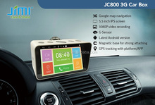 JIMI JC800 3G&Wifi portable camera DVR and GPS navigator with Android system