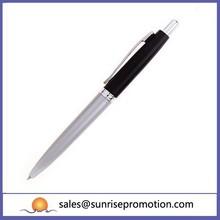 Biodegradeable Black Metallic Ballpoint Pen