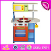 Happy play fun wooden kitchen toy,wooden toy kitchen set toy for children,cheap wooden kitchen set toy for baby W10C094