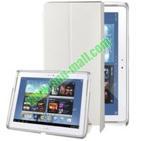 Pure Color PU Leather Smart Cover for Samsung Galaxy Note 10.1 Edition Case