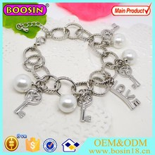 Wholesale Fashion Jewelry Silver Jewelry Charms Bracelets Magnetice Bracelets #31515