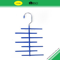 LM1033 Custom Bule pvc Wire Electric Tie Hanger With 12 racks