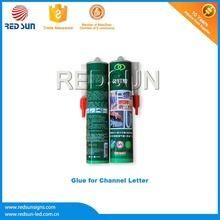 Magic glue resist heat for Illuminated Letter Signs