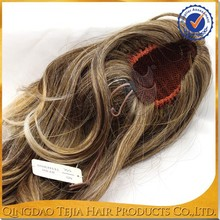 Factory cheap price claw clip ombre synthetic ponytail