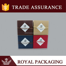 Traditional Custom Square Gift Box for Tea