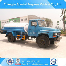 widely used optional 6ton 4*2 fecal section truck for septic tank