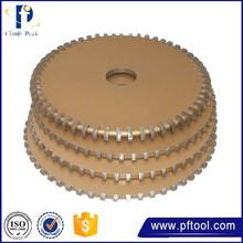 gold supplier china resin bond diamond profile wheel