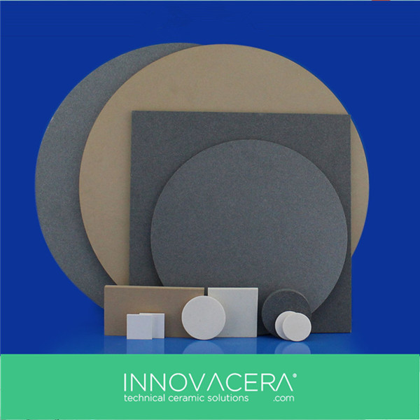 Porous Ceramic Wafers Plate For Semiconductor Assembly