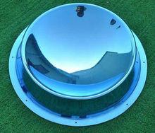 Elegant acrylic colored centerpiece mirror