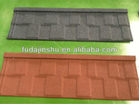 metal building material color sand stone roof tile
