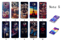 Customed IMD Blue Light TPU Cell Phone Case For Samsung Galaxy Note 5