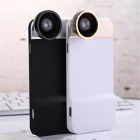Novelty Fisheye Lens Universal Wide Angle Micro Lens Phone Camera Lenses Cell Phone Case