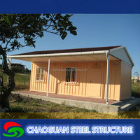 The prefabricated flat-pack container homes for chemical store made in China