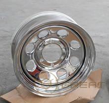 SUV chrome steel wheel 4x4 with high strength