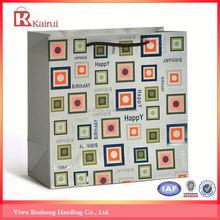 Popular for the market factory supply 250gsm art paper bag