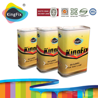 KINGFIX Brand good appearance 2k solid colors car paint export to south africa