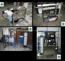 12V solar power 1 pass RO seawater desalination plant for drinking water AR pump filmtec membrane 500LPD 63x67x45cm 85kg 1