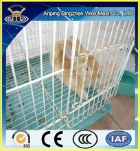 wholesale lowest galvanized welded wrought iron rabbit cage