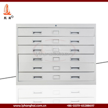 Lockable Under Desk Luoyang Office-room Plan Drawing Cabinet metal Vertical Filing drawing cabinets with drawers