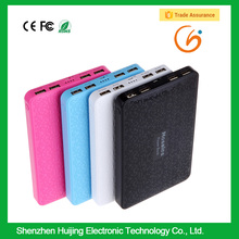 2015 Top Seller High Capacity custom powerbank charger with 4 USB ports for traveling