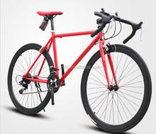 700C steel frame disc brake cheap road racing bike