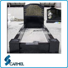 granito negro de shanxi lápida talla