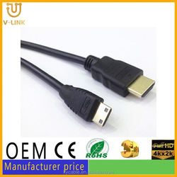 Gray mini hdmi to rca cable rs232 to hdmi converter for Hometheater