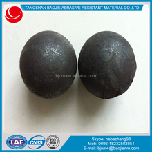 2015 new product high hardness high chrome big alloy cast steel ball for cement mill