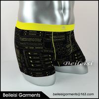 Wholesale eco friendly underwear men bamboo boxer brief