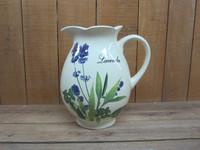 New lavender design ceramic elegant water jug