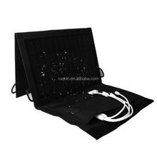 Factory Price solar panel foldable & portable solar charger for mobile phones