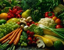 source fresh fruit and vegetables 100% natural