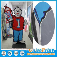 Digital printing clear polystyrene sheet for advertising