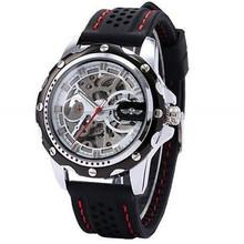 Automatic Skeleton Watch 2015 Fashion Winner Mechanical Men's Watch Relojes