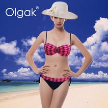 Newest Arrival Brazil Fashion Sexy Women Swimwear Bikini With Accessories And Hot Drilling