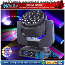 new 19x15w led bee eyes moving head