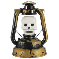 2015 Fashion Design Pumpkin Skull Witch PVC Plastic Hand Lamp Ghosty Laughter with Light Halloween Decoration Home Decor