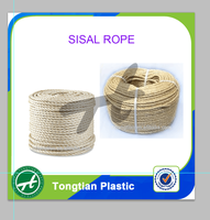 3 strands unoiled sisal twine/rope