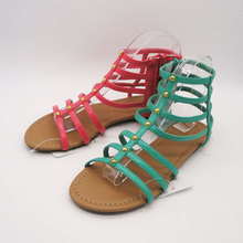 cheap rubber outsoe first grain leather latest sandals designs