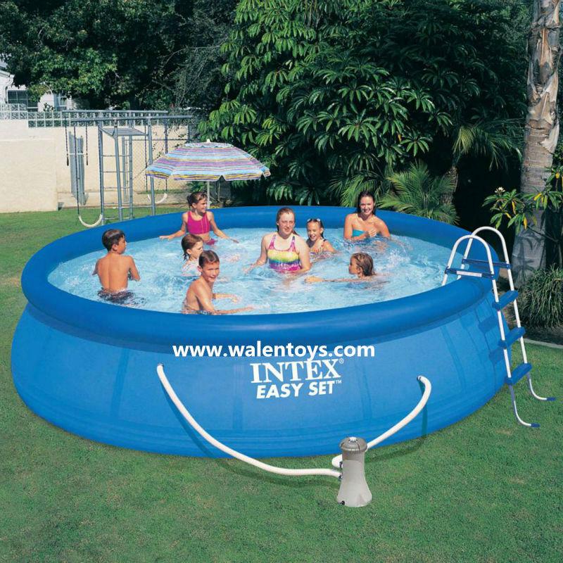 Piscinas de pl stico piscina pvc rodada retangular for Piscinas de plastico para jardin