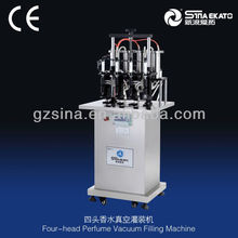 China Sina Ekato Hot-Sales Semi Automatic Machine of Plastic Bottle Filling and Can Filling
