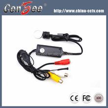 1/3 Sony Ex-view CCD 550TVL HD Mini Live cam small hidden pinhole camera