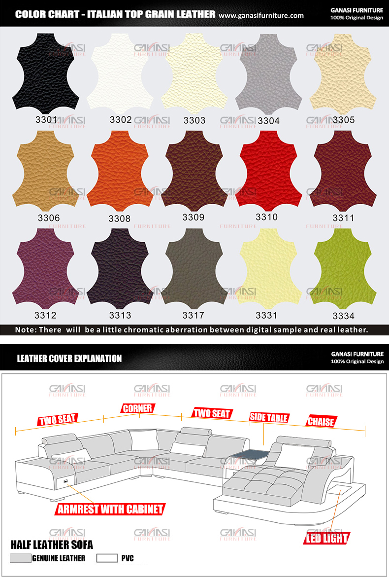 Ganasi mobília moderna sala de jogos, provincial francês móveis sofás