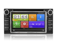 for Toyota Universal car dvd player with GPS/OBD/DVR/IPOD/DSP/VCD